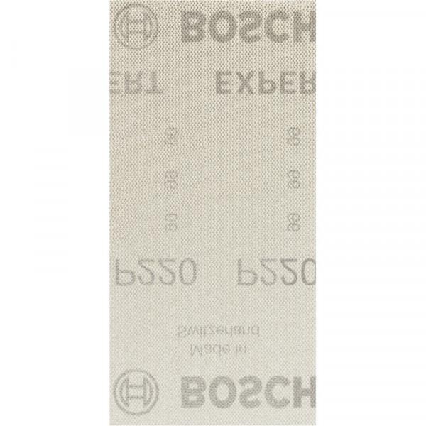Bosch Professional EXPERT M480 Schleifnetz für Schwingschleifer, 93 x 186mm, G 220, 50-tlg., für Exzenterschleifer - 2608900757