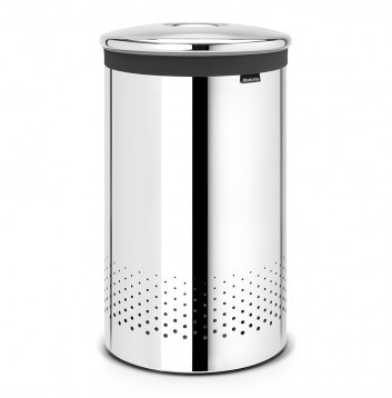Brabantia Portabiancheria 60 L, Brilliant Steel - 105203