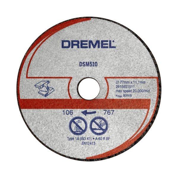Dremel DSM20 disco da taglio per metallo e plastica (DSM510)