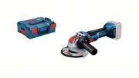 Bosch Smerigliatrice angolare a batteria GWX 18V-10 Professional con X-LOCK, senza batteria e caricabatteria, L-BOXX - 06017B0101